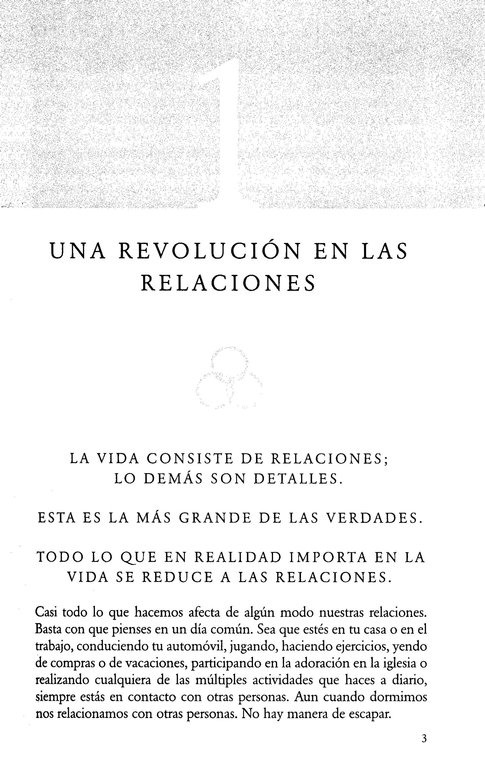 El ADN de las Relaciones  (The DNA of Relationships)