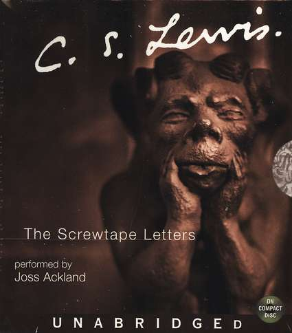 The Screwtape Letters                        - Audiobook on CD