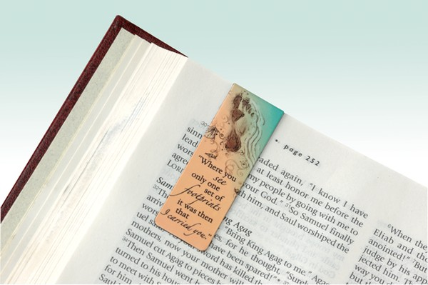 Magnetic Bookmarks, Set of 6, Classic Verses
