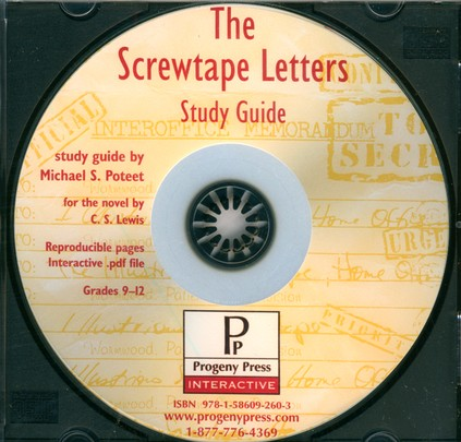 Screwtape Letters Study Guide on CDROM