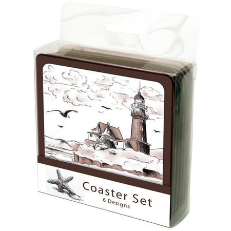 Nautical Coasters, Set of 6