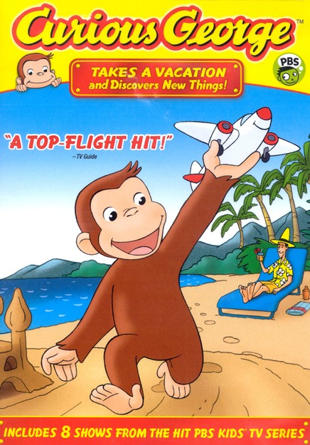 Curious George Takes a Vacation DVD