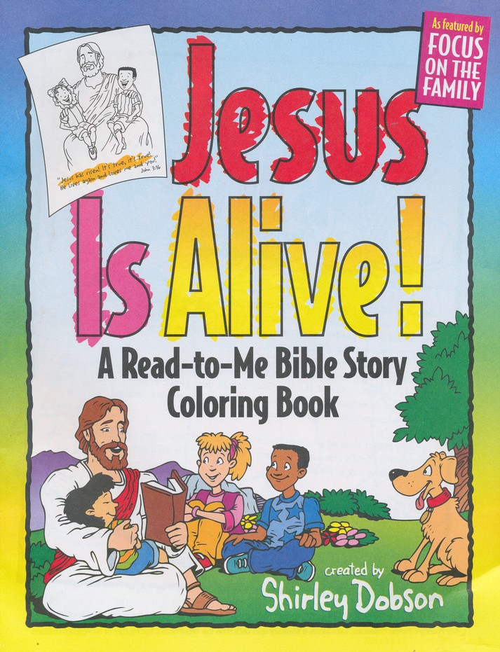 Jesus is Alive Coloring Book