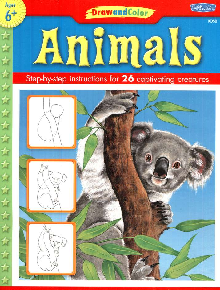 Draw and Color: Animals