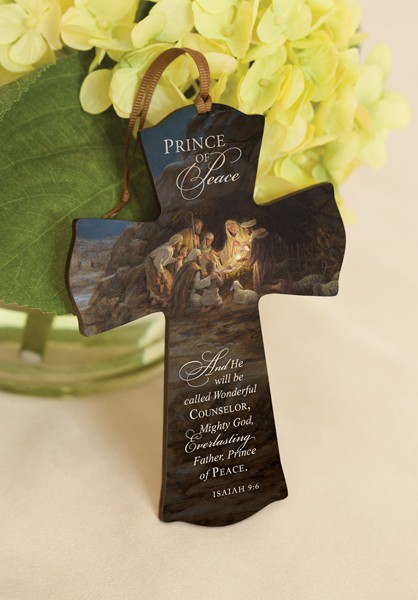 Prince of Peace Mini Cross