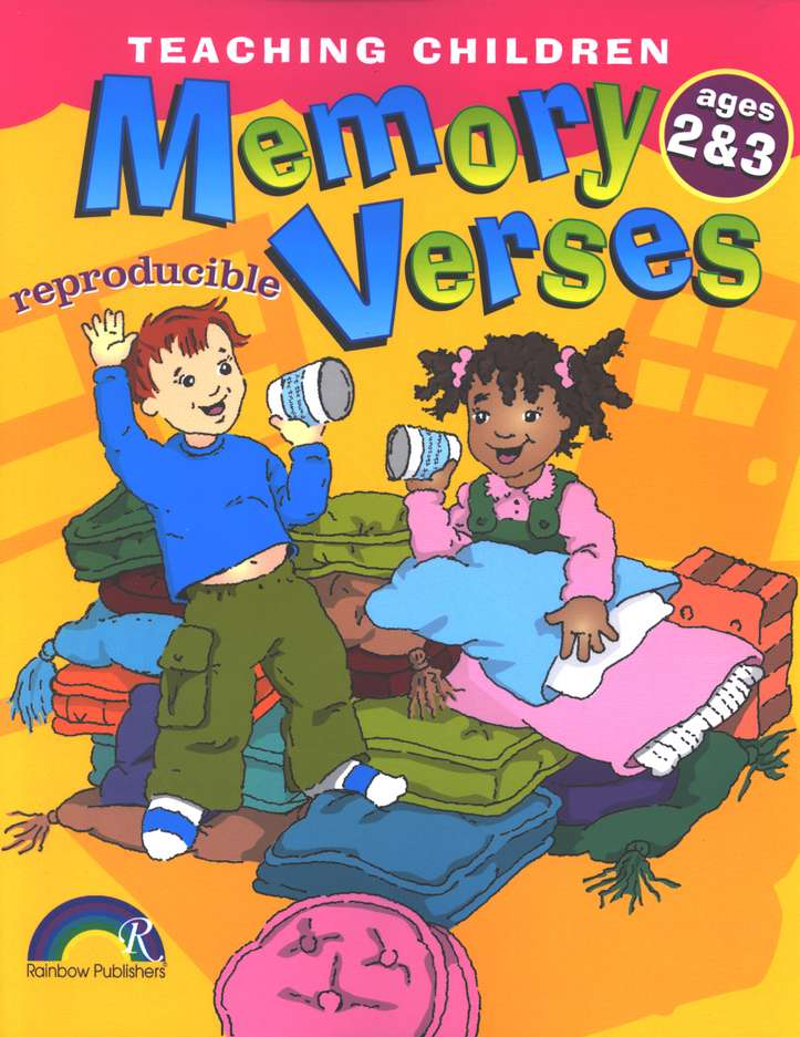Teaching Children Memory Verses, Ages 2-3