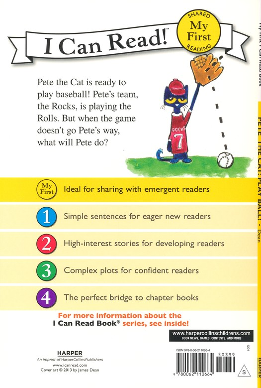 Pete the Cat: Play Ball!, hardcover