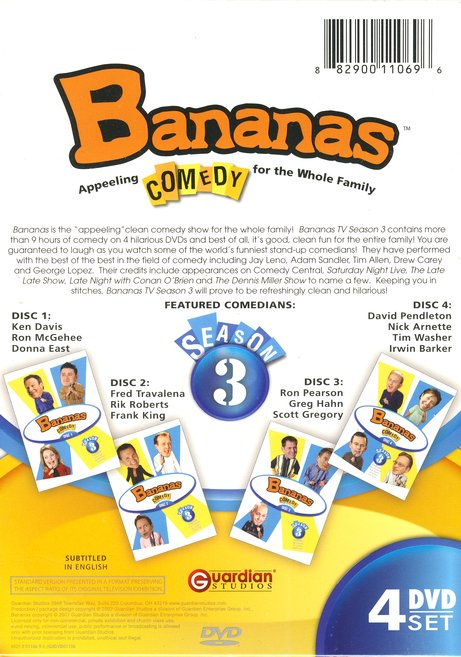 Bananas TV, Season 3