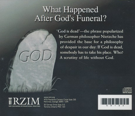 What Happened After God's Funeral? - CD