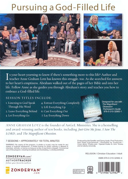 Magnificent Obsession: Embracing the God-Filled Life DVD