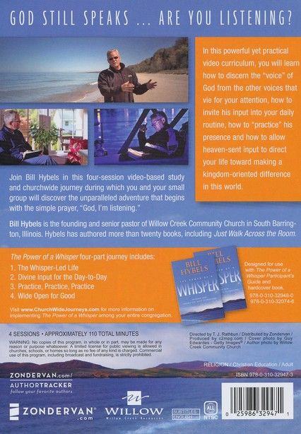 Power of a Whisper: Hearing God, Having the Guts to Respond DVD- CDROM