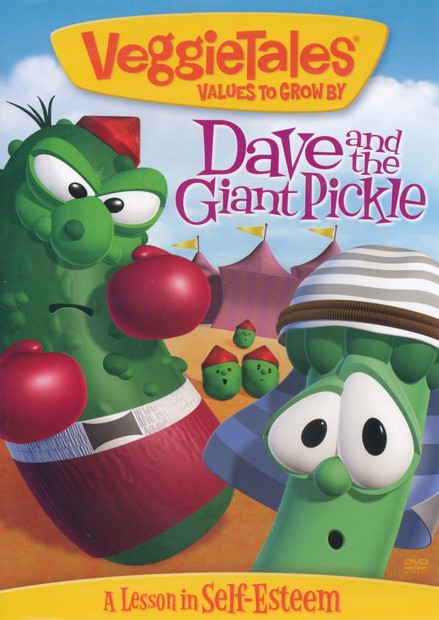 Dave and the Giant Pickle (reissue) VeggieTales DVD