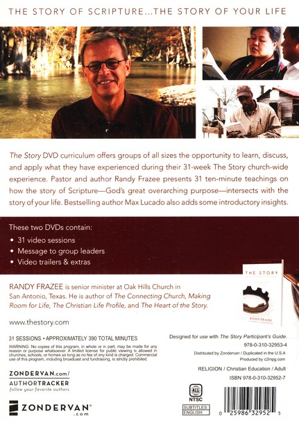 The Story: Getting to the Heart of God's Story - DVD