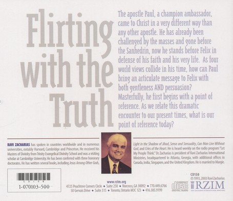 Flirting with the Truth - CD