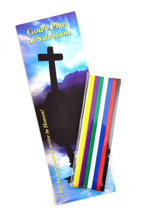 Bible Ribbons with Bookmark