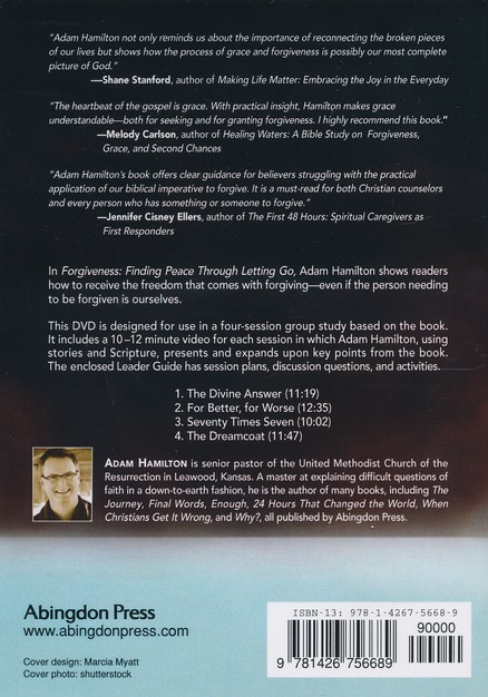 Forgiveness - Adam Hamilton: DVD with Leader's guide