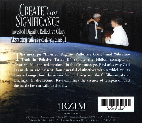 Created for Significance - CD