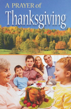 A Prayer of Thanksgiving (NIV), Pack of 25 Tracts