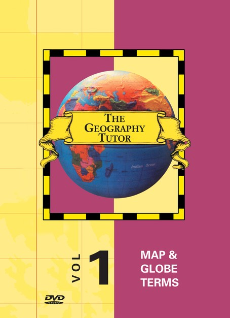Geography Tutor: Map & Globe Terms DVD