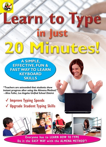 Learn How To Type In Just 20 Minutes DVD