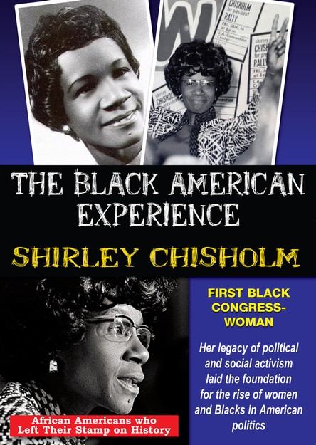 Shirley Chisholm: First African American Congresswoman DVD