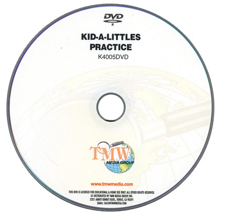 Kid-a-Littles: Training & Practice DVD