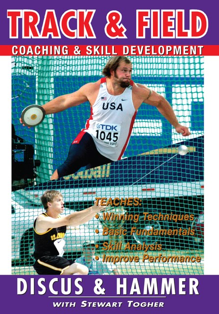 Track & Field: Discus & Hammer With Stewart Togher DVD