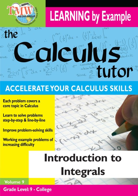 Calculus Tutor: Introduction To Integrals DVD