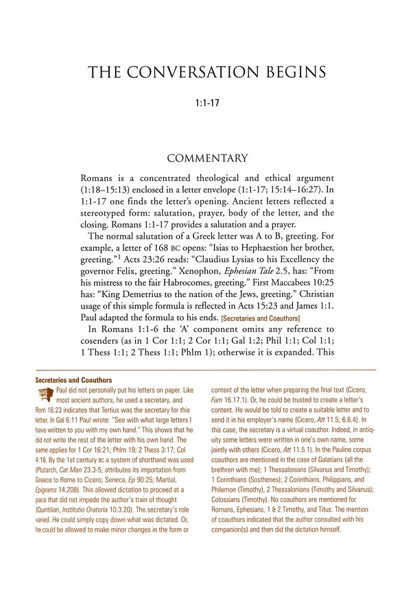 Romans Smyth & Helwys Bible Commentary