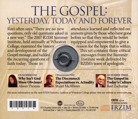 The Gospel: Yesterday, Today, and Forever - CD