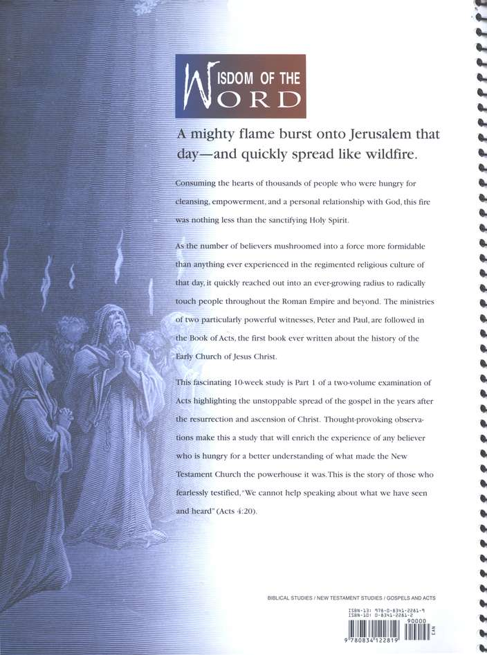 Acts Part 1, The Church Ignited: Wisdom of the Word Series