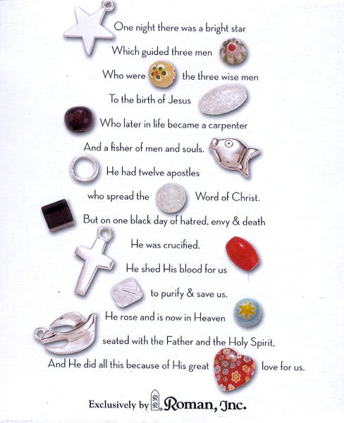 Christ's Story Beaded Bracelet, Small