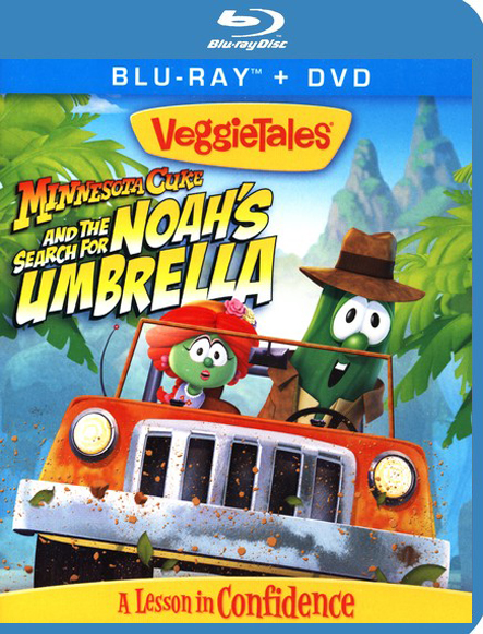 Minnesota Cuke and the Search for Noah's Umbrella,  Blu-ray/DVD