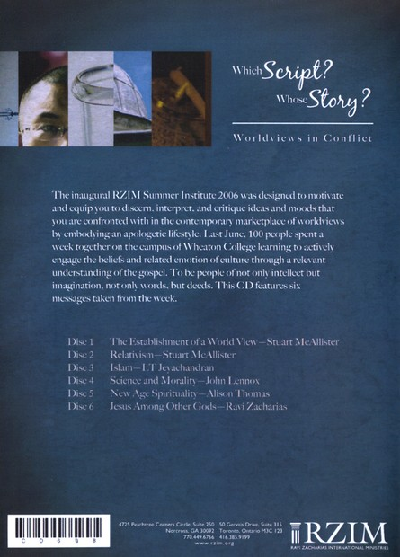 Which Script? Whose Story? Worldviews in Conflict - CD
