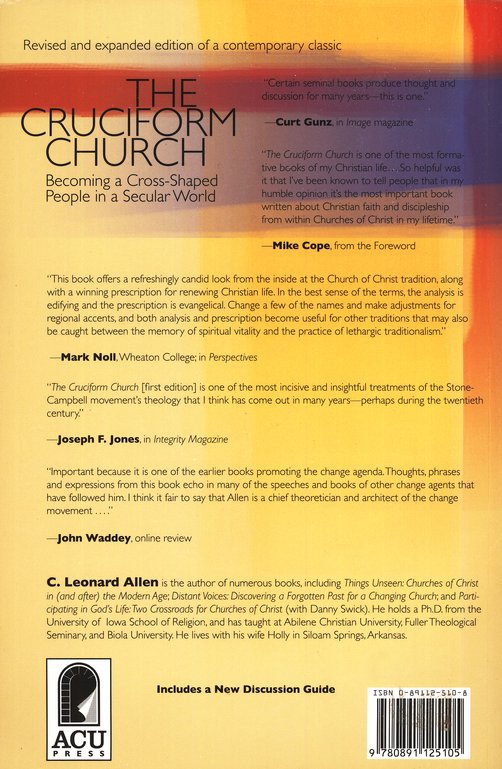 The Cruciform Church: Becoming a Cross-Shaped People in a Secular World