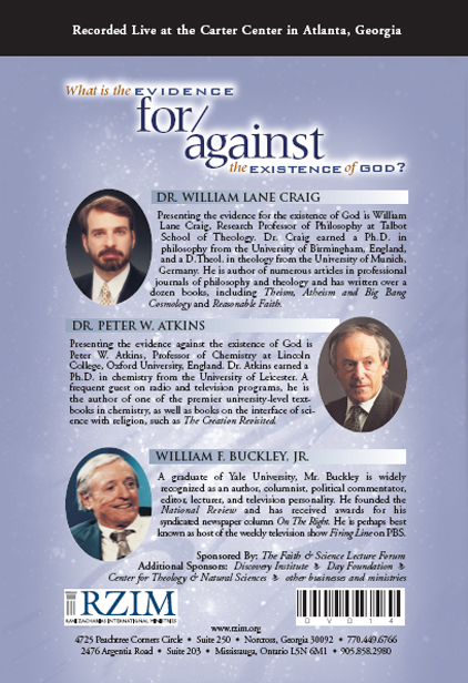What is the Evidence for/against the Existence of God? - DVD