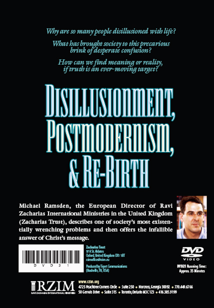 Disillusionment, Postmodernism, and Rebirth - DVD