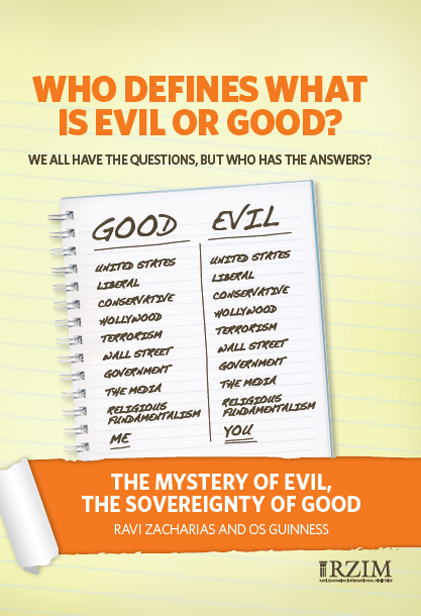 The Mystery of Evil, the Sovereignty of Good - DVD