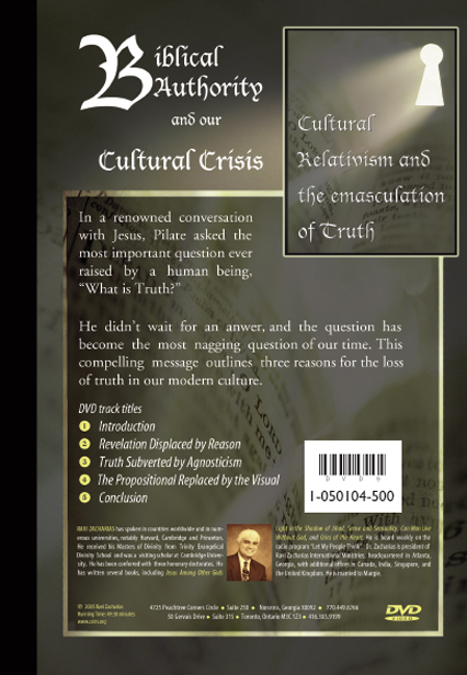 Biblical Authority and our Cultural Crisis - DVD
