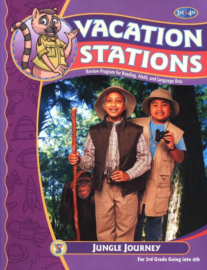 BJU Vacation Stations Book 4: Jungle Journey Grades 3-4