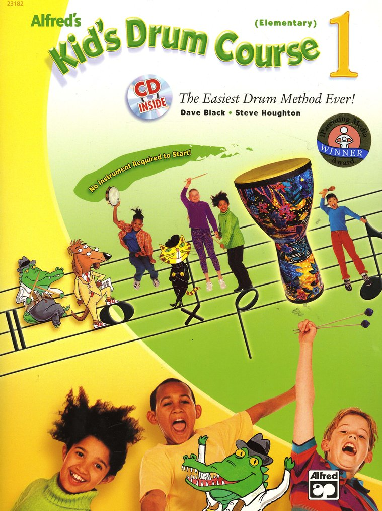 Kid's Drum Course 1 Book & Audio CD (Elementary Grades)