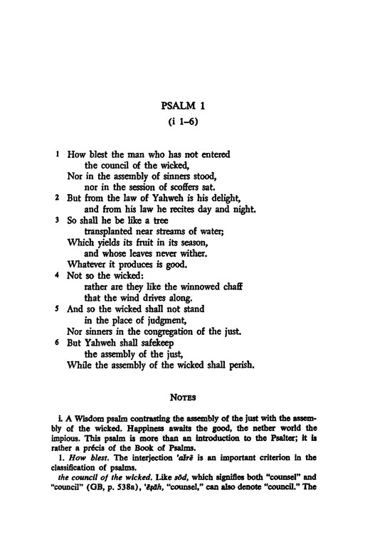 Psalms 1-50: Anchor Yale Bible Commentary [AYBC]
