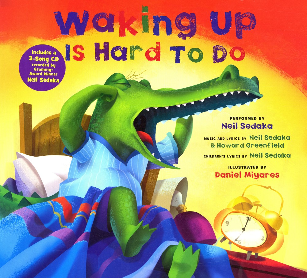 Waking Up is Hard To Do with 3-Song Audio CD