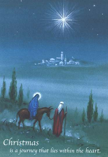 Christmas Is a Journey Cards, Pack of 20