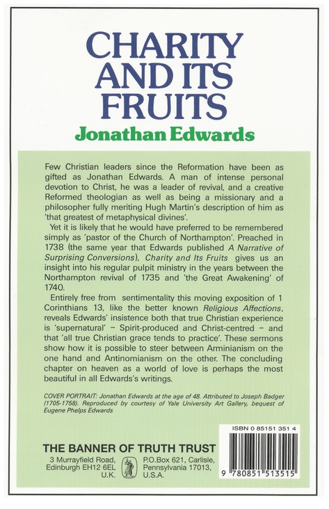 Charity & Its Fruits