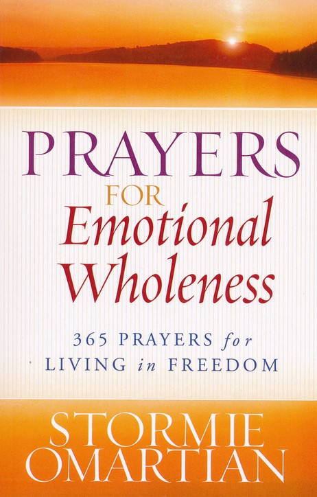 Prayers for Emotional Wholeness: 365 Prayers for Living in Freedom, Large Print