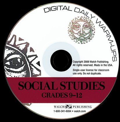 Digital Daily Warm-Ups, Social Studies, Grades 9-12