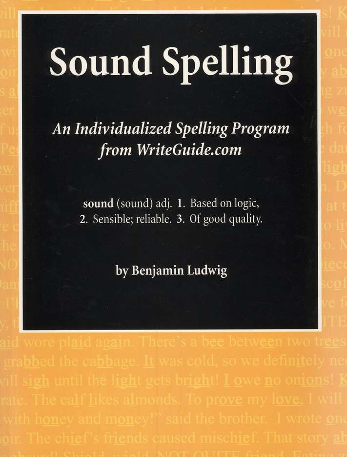 Sound Spelling: An Individualized Spelling Program