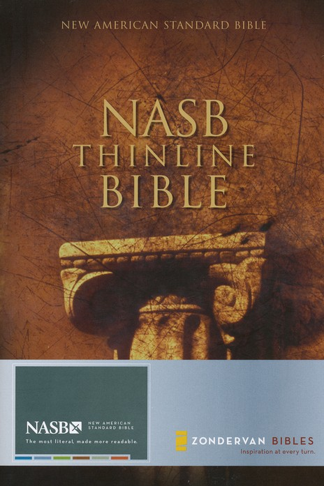 NAS Thinline Bible, Hardcover