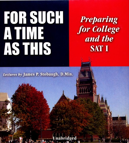 For Such a Time As This: Preparing for College and the SAT 1--Audio CD Set
